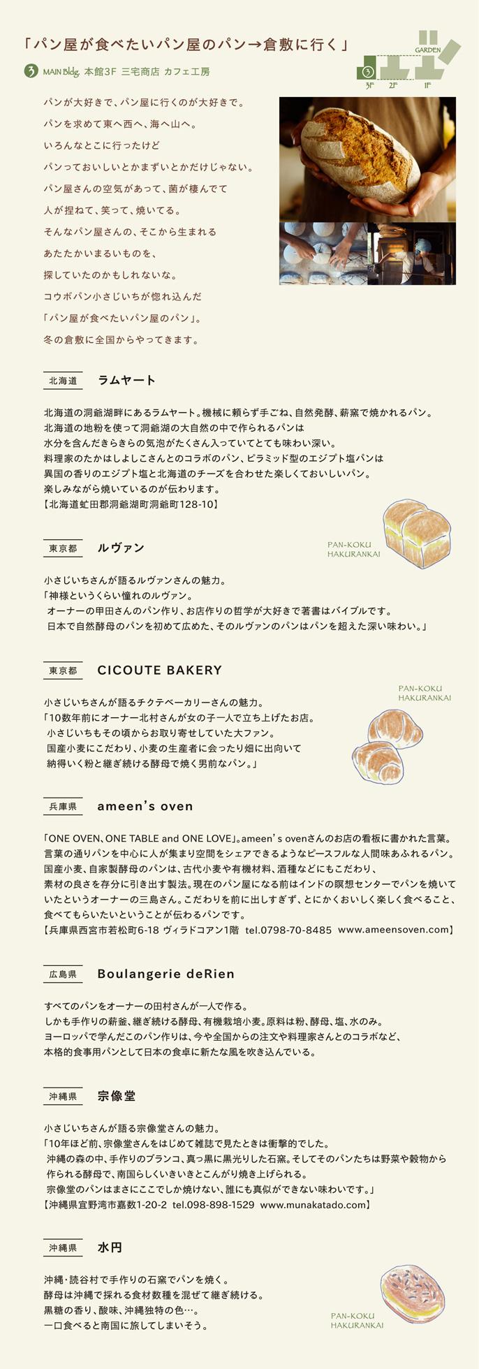 パン屋が食べたいパン屋のパン→倉敷に行く