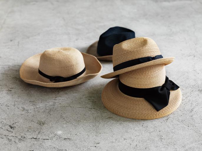 石田製帽の麦わらぼうし展