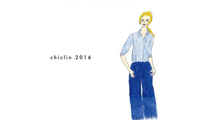 chiclinの洋服展