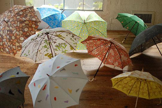 イイダ傘店「初夏の傘展」