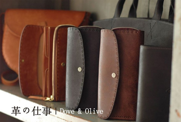 革の仕事|Dove & Olive展